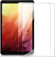 Tablet PC Protetores de tela 9H Dureza Protetor de vidro temperado para Lenovo Tab M8 FHD TB-8705F TB-8705N TB-8505F