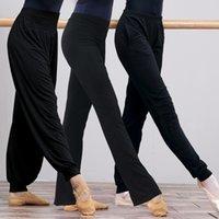 여성 요가 높은 허리 스트레치 피트니스 바지 슬림 운동 스포츠 바지 숙 녀 댄스 훈련 벨 바닥