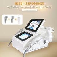 Portable LipoSonix hifu Slimming Machine High Intensity Focused Ultrasound 3D 4D 9D Beauty Equipment body lift skin tighten Cuerpo que adelgaza la liposunix