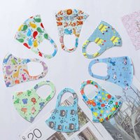 In Stock Cartoon 3D Design Face camouflage Mask for adult Kids Cover Mouth Mask ice silk mask Anti-bacterial Washable Reusable Design Hallow