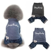 Dog Apparel Pet Dogs Coat Four Legs Cotton Jacket Thick Warm Comfortable Autumn Winter Sweater Baby Clothing For