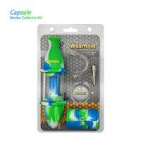 Waxmaid Kit da collezione del nettare all'ingrosso Accessori da fumo Mini vetro DAB Rigs Bruciatore di olio Dai da Magazzino CA