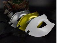 Máscara de lujo para hombre Partido veneciano Mascarada Mascarilla Romana Gladiador Halloween Máscaras MARDI GRAS MEDIA FUERA MÁSCARE opcional Multi-color 1056 B3