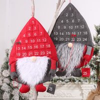 New Christmas Decorations Nordic Forest Old Man Calendar Rudolph Countdown Calendar Creative Calendar Wholesale 2021 New Year A239