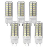 6 adet / grup G12 LED Mısır Işık 12 W 120LM / W PL Ampul Işık Sıcak Soğuk Beyaz RepLce 20 W G12 Metal Halide Lambası AC85-265V