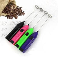 Rechargeable Milk Frother USB Handheld Electric Foam Bread Maker Hand Mixer Mini Egg Beater Whisk Free shipping