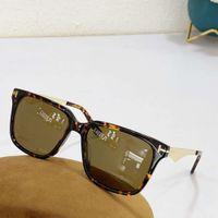 Fashion Brand cat eye ft0862 Sunglass men women tom half frame retro classical Polarized ford sunglass with Original Box
