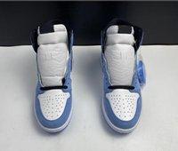 Baskets de basket-ball bleu de l'université I 1 Hommes 555088-134 Athlétique IAEFA 1S chaussures