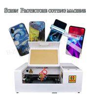 Güç Aracı Setleri EST A4 Akıllı Hassas Lazer Kesim Makinesi Cep Telefonu LCD Ekran Koruyucu Film Yaprakları için Sınırsız
