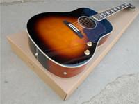 무료 배달 맞춤 160 햇살 41inch 어쿠스틱 기타, 나무 기타, 스틸 문자열 기타, 민속 기타, 로즈 우드 fretboard