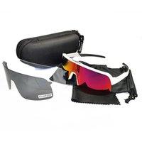 Черный поляризованный объектив Велоспорт Солнцезащитные Очки Мужчины Женщины Спортивные Велосипед Велосипед Bicicleta Очки Велоспорт Очки Очки UV400 3 Линзы с Чеком