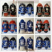 Tampa Bay Lightning Hockey Hoodies Jerseys 91 Steven Stamkos 9 Tyler Johnson 86 Nikita Kucherov Islanders 13 Mathew Barzal 55 Johnny Boychuk