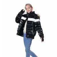 OrangeMom 브랜드 십대 겨울 코트 화이트 오리 8-18 년 동안 어린이 재킷 아래로 어린 이용 옷을 입은 소년 소녀 옷 파카 엄마와 나 210930