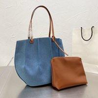 Designer Bags Женская сумка для сумок для покупок сумки для плеч Большая емкость верхняя кабинета поставляется с небольшим количеством бренков