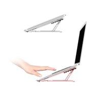 Tragbarer Laptop-Stand-Aluminium-faltbares MacBook Pro-Unterstützung einstellbares Notebook-Halter-Tablet-Basis für PC-Computer-Zubehör