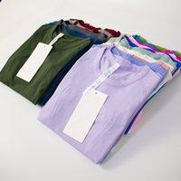 Yoga T Shirts Womens Wear Swiftlys Tech Ladies Sports Tshirt Camisetas de manga corta T-shirts Humedad Wicking Knit High Elastic Fitness Factury Washing Tess 2021