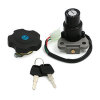 Pack of 3 Ignition Switch Lock Fuel Gas Cap Key Set For Puls...
