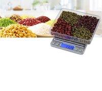 Бытовая кухня Весы 200 г 500 г / 0,01 г, 3000 г / 0,1 г Цифровые карманные ювелирные изделия Вес электронные баланс масштабы G / OZ / CT / GN точность