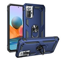 Phone Cases For Xiaomi Redmi Note 10Pro 10s 10 5G 9T 9Pro 9s 9 9a 9c 8T 8 8Pro Poco X3 GT NFC Pro M3 F3 Armor Anti-Fall Ring Holder Protective Shell