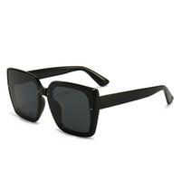 Sunglasses de qualité supérieure Designers de marque de mode avec logo UV400 Womens lunettes de lunettes Mens lunettes Unisexe Classic Coffret Coffret