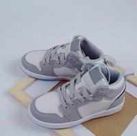2021 Classic 1 Designer D Mid shoes Children Boy Girl Kid youth Basketball sports shoes skate sneaker size EUR26-35
