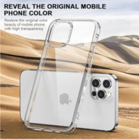 Original Shockproof PC Matte TPU Mobile Phone cases for iPhone 12 13 Mini Clear Transparent