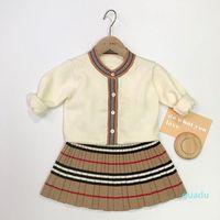 Trendy Toddler Girl Dresses Diseñador de primavera Bebé recién nacido Ropa linda para niñas Paño de atuendo