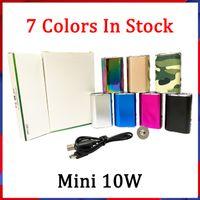 Wholesale Top Quanlity Mini Stick 10W аккумуляторный комплект Box Mod E-сигарета 1050mah Переменная напряжение VV Vape Peen с USB-кабель 510 Разъем EGO Adapter Простой пакет