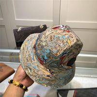 2021 Yeni Moda Lüks Tasarımcı Kova Şapka Balıkçı Şapka Erkekler ve Kadınlar için Yüksek Kalite Klasik Seyahat Güneşlik Şapka