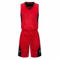 رخيصة كرة السلة جيرسي مجموعة للرجال نوعية جيدة red customizedjerseys