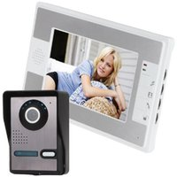Video Door Phones Visual Doorbell 7 Inch Bell Intercom Phone Kit 1 Camera Monitor Night Vision
