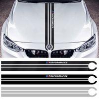 BMW M3 M5 M6 E46 E90 E60 E70 F30 F15 F16 F16 Desempenho Corpo Moda Decorado Fibra De Carbono Capuz Autocolante Auto Acessórios