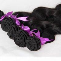 البرازيلي الجسم موجة حزم الطبيعية الأسود 5 قطع الإنسان نسج نسج ريمي الشعر حزم مزدوجة تعادل
