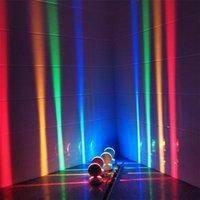 Wall Lamps LED Lamp 360 Degree 10W Window Light RGB Corridor Ray Door Frame Line For Bar El Indoor Lighting