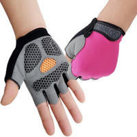 Cycling Gloves Summer Thin Half Finger Anti- Breathable Outdoor Camping Motorcycle MTB Bicycle Mitten Bike Accessories