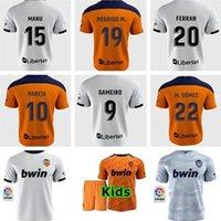 20 21 발렌시아 축구 유니폼 2021 Guedes Gameiro Florenzi Camisetas de Futbol Rodrigo M.gomez 남자 키트 풋볼 셔츠