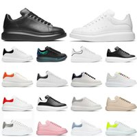 2021 Wholesale Luxurys Designers Shoes Women Mens Casual Sneakers Off Authentic White Black Red Green Suede Beige ACE Platform Leather