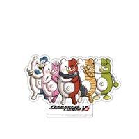 DangAnronpa v3 Akamatsu Kaede AMASHI RANTARO HM STAND ACENDIENTE FIGURA MODELO MODELO DE PLACA Tapa de la placa Topper de la torta del anime Llavero de anime Garaje Kits L0226