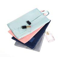 Toiletry Kits Travel Shoe Bag Zipper Waterproof Women Men Foldable Makeup Storage Pouch