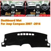Für Jeep Compass 2007 ~ 2016 MK1 MK49 Anti-Rutsch Auto Dashboard Cover Matte Sonnenschutz Pad Instrument Panel Teppiche Zubehör