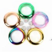 3.5oz bangle pulseira frasco de quadril com funil de aço inoxidável álcool uísque bolso flagon portátil ferramenta de drinkware redondo ewb8984