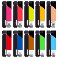 Original 2000 hits+ Disposable Vape Pen Cigarettes 15 color options Battery 1000mAh Capacity 6.8ML Puff Bars