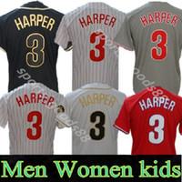 사용자 정의 2020 필리 니 저지 3 Harper 17 Rhys Hoskins 10 JT Realmuto 남성 여성 청소년 모든 이름 모든 Number Jersey Stitched 05
