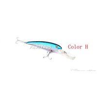 Новые Большие Сорлевые рыболовные рыболовные приманка ABS пластиковые купальники 10 цветов 20 см 41г глубокий дайвинг Wobbler Fishing Bai Jllyrb Ladyshome
