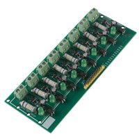 Équipement à fibre optique 8 bits AC 220V Optocoupleur Module de détection de tension de détection de tension adaptative 3-5V pour PLC Isolamento fotoaccapiatore