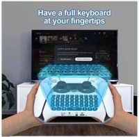 PS5 مقبض بلوتوث لوحة المفاتيح اللاسلكية الألعاب مفاتيح الألعاب لجهاز الكمبيوتر PS5 تحكم بلاي ستيشن الملحقات ملحقات Gamepad