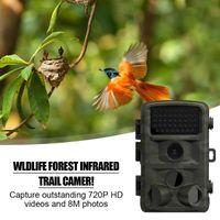 Cámara de caza DL-2 Investigación científica al aire libre HD Vigilancia Pir infrarrojo Visión nocturna Visión forestal Foresty Pescado Estanque Cámara antirrobo