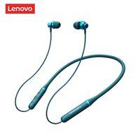 TWS Bluetooth Auricolare Lenovo Cuffie per cuffie True Stereo wireless Sport a cuffie magnetiche con microfono IPX5 Auricolare impermeabile