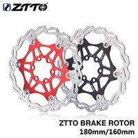 자전거 브레이크 ZTTO 180mm 160mm DH 브레이크 플로팅 로터 스테인레스 스틸 MTB 디스크 산 도로 CX 자전거 부품 용 유압 패드