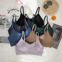 Bras CHRLEISURE Adjustable Women's Tube Top Push Up Underwear Women Soft And Breathable Female Bra Summer